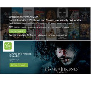 Hotstar Free Premium Subscription 1 Month Worth Rs 199