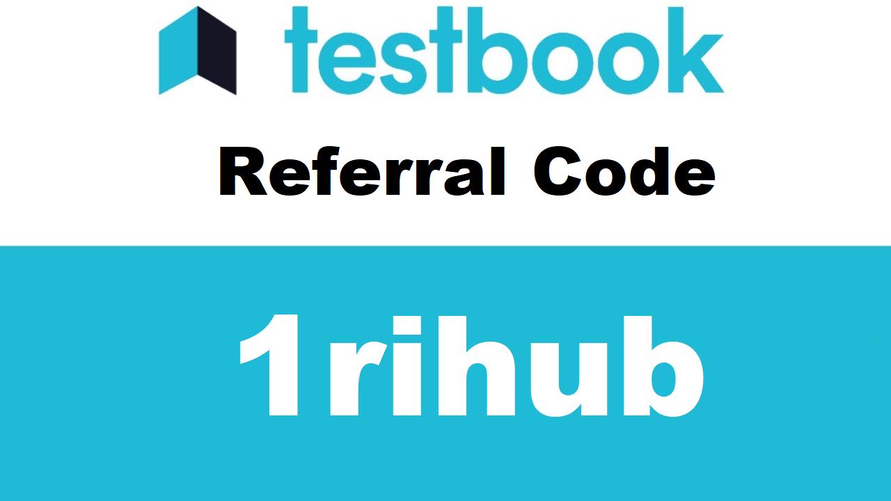 Download APK Testbook Referral Code: 1RIHUB Earn ₹40 Paytm Cash