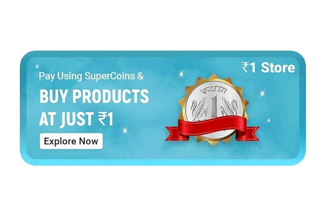 Flipkart SuperCoins Free Store at Just Rs 1 New Product Added